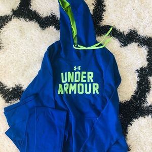 Tops - Under Armour Hoodie and Legging Set